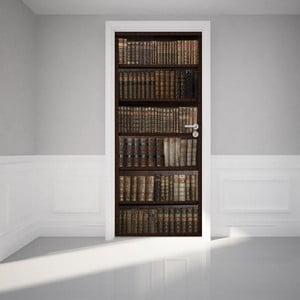 Naklejka elektrostatyczna na drzwi Ambiance Bookshelf