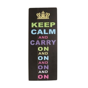 Tablica Keep Calm, 80x30 cm