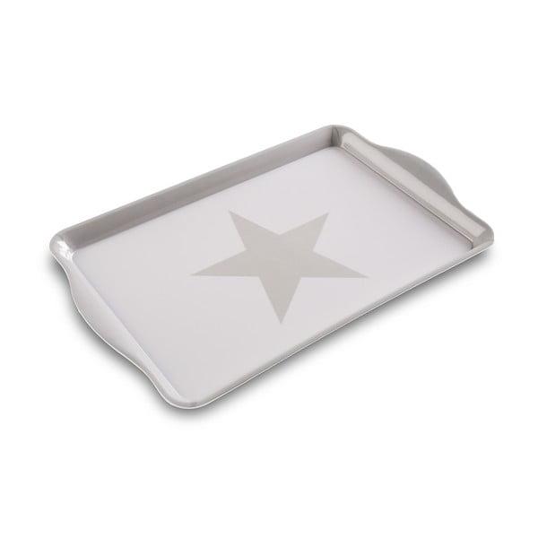 Taca White&Grey Stars