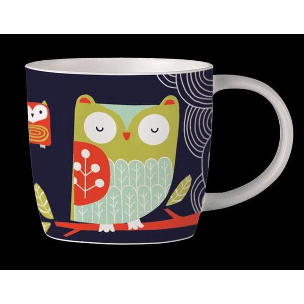 Kubek z angielskiej porcelany Folkland Barn Owl