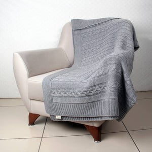 Koc Tete Grey, 130x170 cm