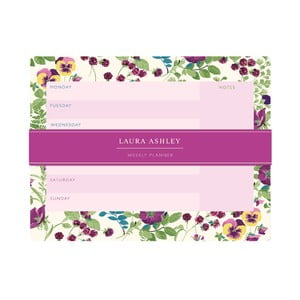 Planer tygodniowy Laura Ashley Parma Violets by Portico Designs, 54 str.
