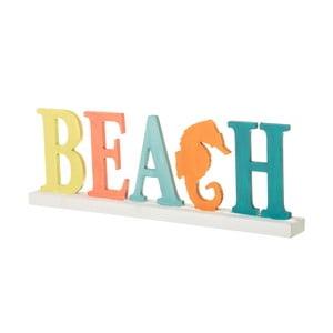 Napis dekoracyjny Unimasa Beach, 43,5x15,5 cm