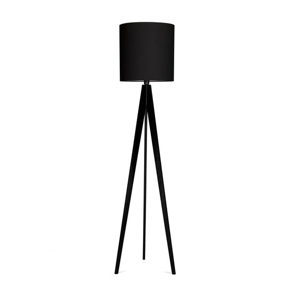 Lampa stojąca 4room Artist Black/Black, 125x33 cm
