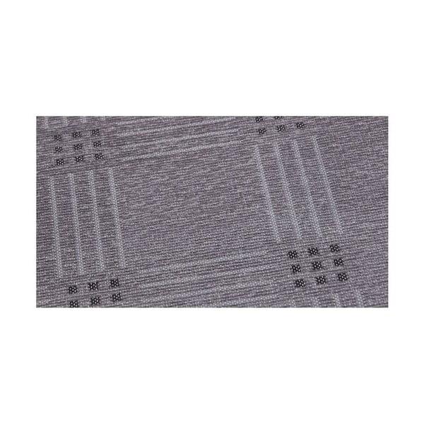 Dywan NW Grey/Black, 80x250 cm