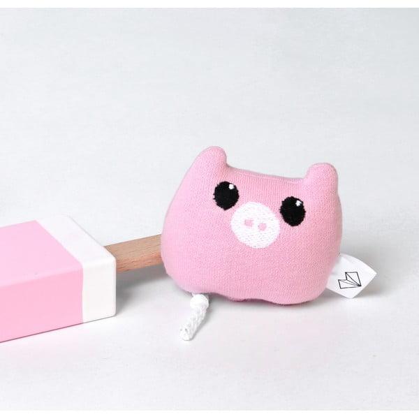 Mini Pluszak Świnka w pudełku, różowy