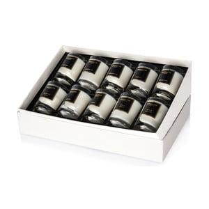 Zestaw 10 małych świeczek zapachowych Bahoma Collection