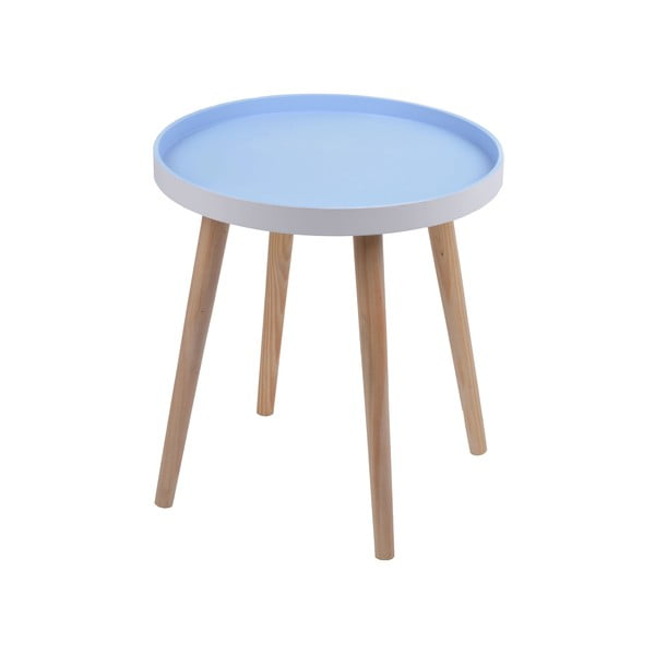 Niebieski stolik Ewax Simple Table, 48 cm