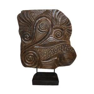 Dekoracja z drewna mungur HSM Collection Sude