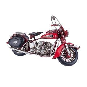 Model dekoracyjny Red Motorcycle