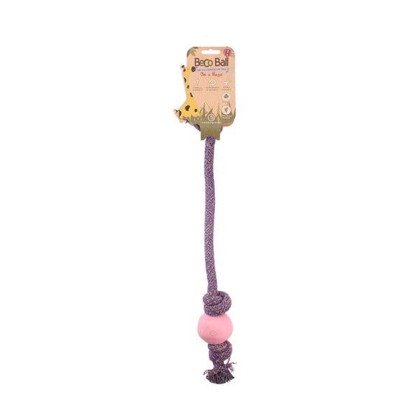 Piłka na linie Beco Rope 40 cm, różowa