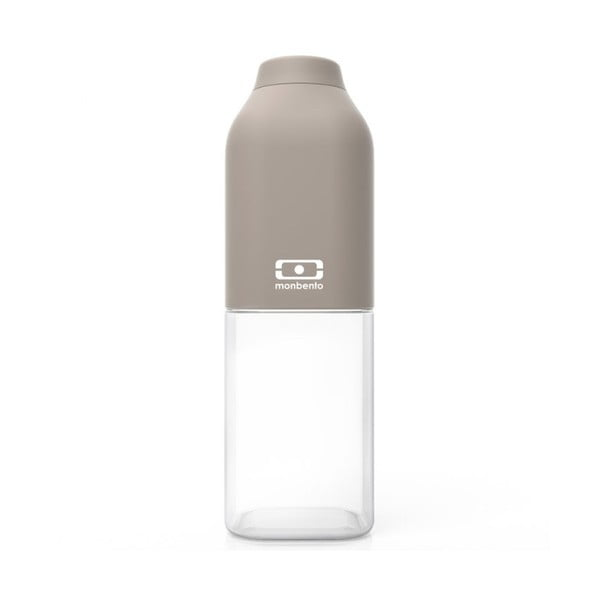 Szara butelka Monbento Positive Grey, 500 ml