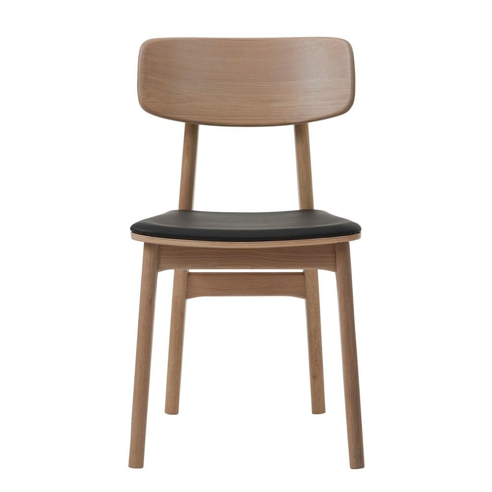Krzesło z drewna białego dębu Unique Furniture Livo