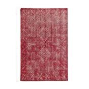 Czerwony dywan wełniany ręcznie wiązany Linie Design Sentimental, 200x300 cm