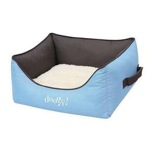Wodoodporne posłanie dla psa Doggy Bamboo, niebieskie