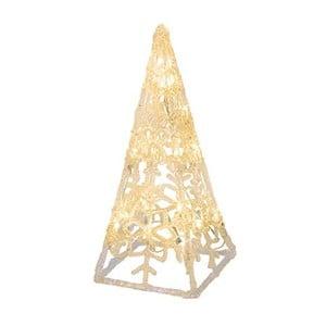 Dekoracja świecąca Best Season Crystal Cone, 30 cm