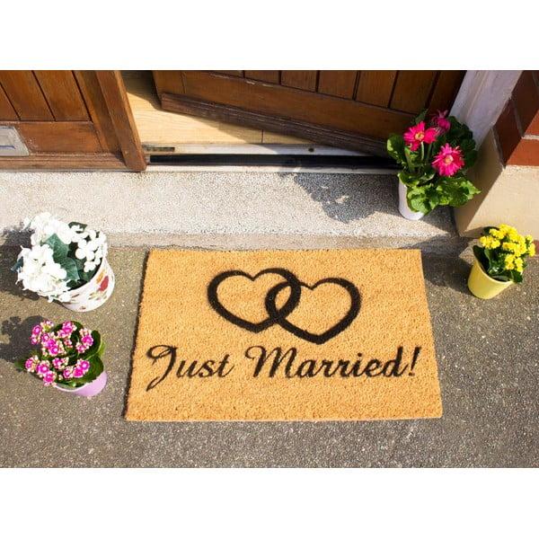 Wycieraczka Artsy Doormats Just Married, 40x60 cm