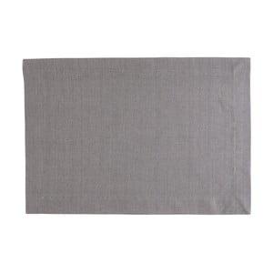 Szara mata stołowa Blyco Bombay, 35x50cm