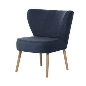 Granatowy fotel My Pop Design Hamilton