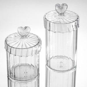 Komplet 2 pojemników Heart Jars