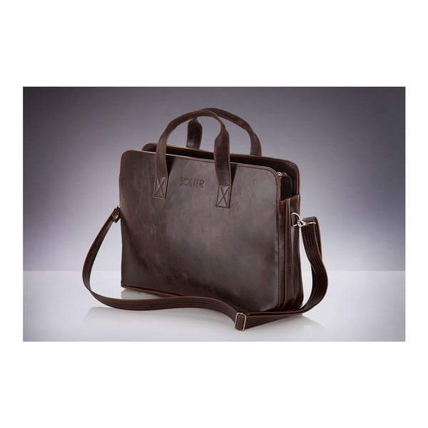 Torba męska Solier S05 Brown