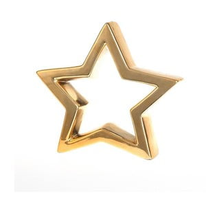 Gwiazda dekoracyjna Deco Gold, 20x18 cm