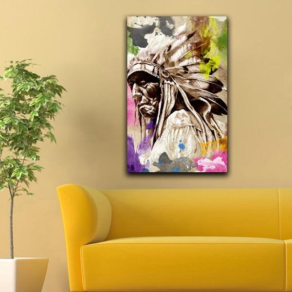 Obraz Indianin, 45x70 cm