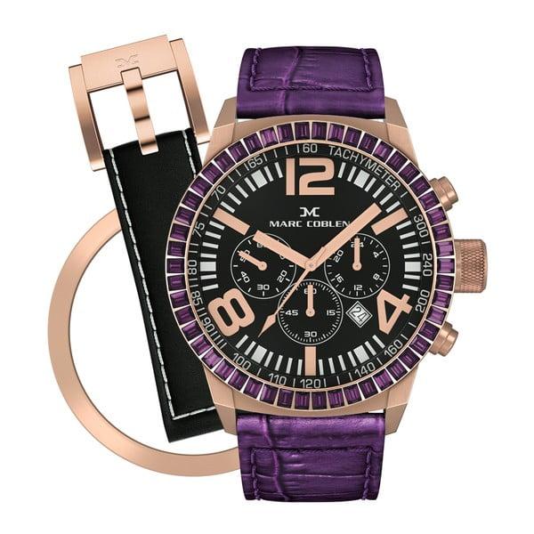 Zegarek damski Marc Coblen z dodatkowym paskiem i obręczą P36