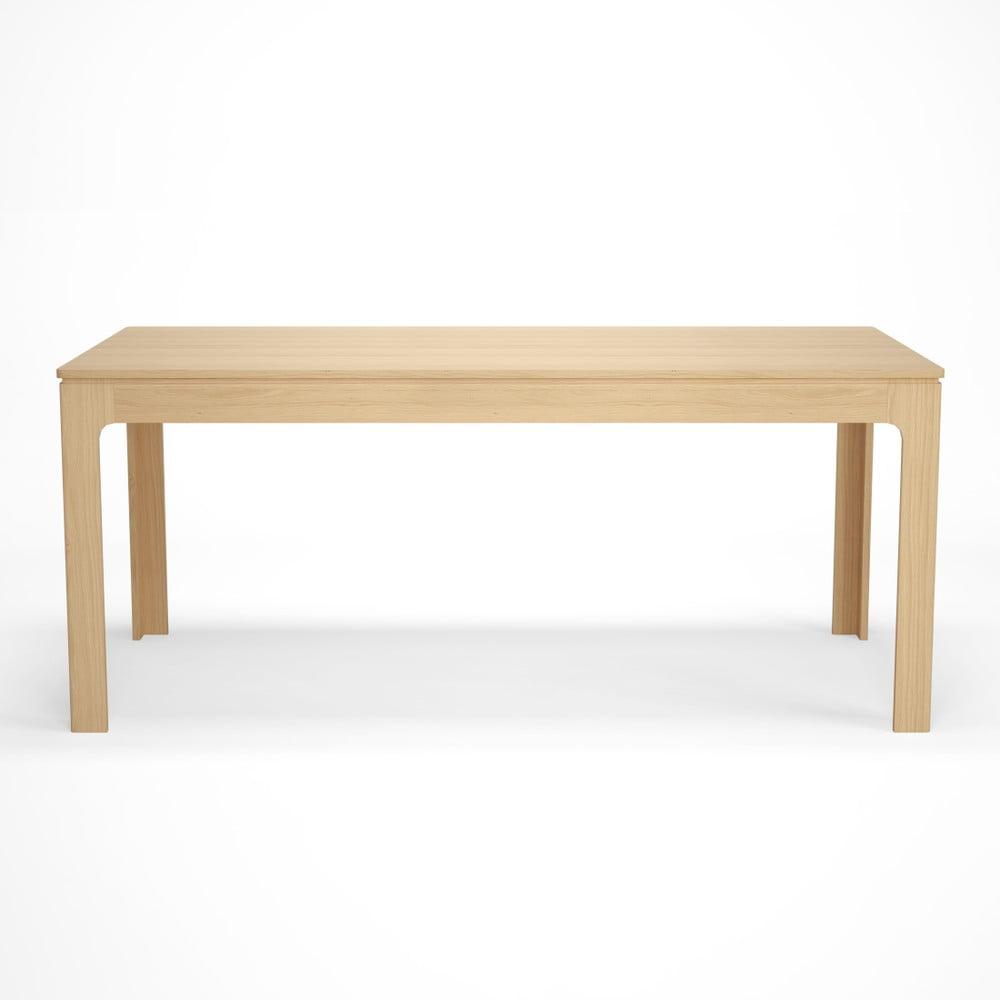 Stół rozkładany z dekorem drewna bukowego Artemob Johny