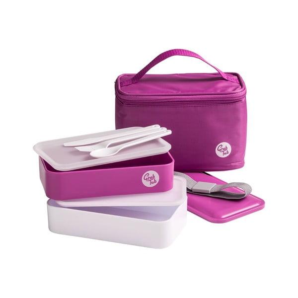 Pojemnik na jedzenie Premier Housewares Cool Bag Hot Pink