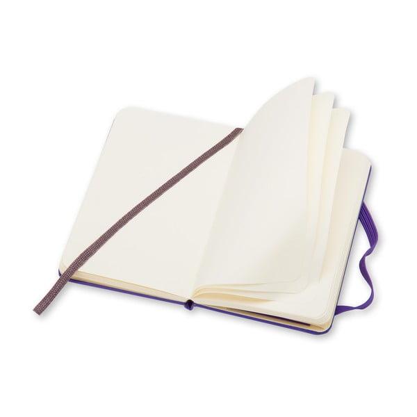 Fioletowy mininotes Molestkine, czyste strony