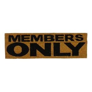 Wycieraczka Members Only, 75x25 cm