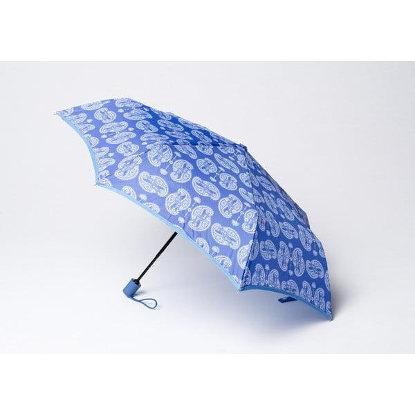 Składany parasol Cashmere, niebieski