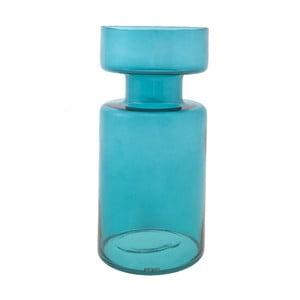 Świecznik Delhi 31 cm, niebieski