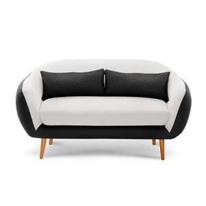 Sofa trzyosobowa Meteore Black/White