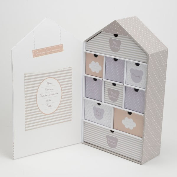 Pudełko z szufladami Isidore