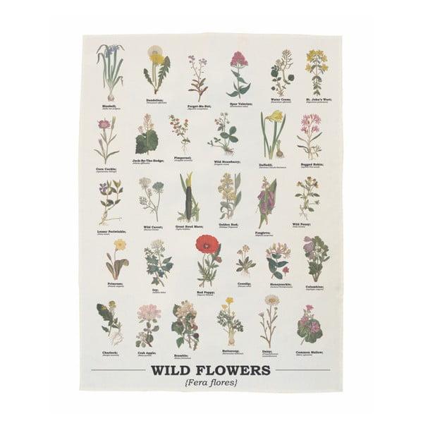 Ścierka bawełniana Gift Republic Wild Flowers