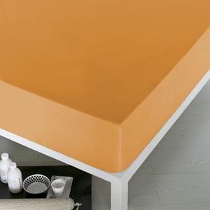 Prześcieradło Home Orange, 100x200 cm