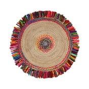Dywan z domieszką bawełny Turro Mismo, ⌀ 100 cm