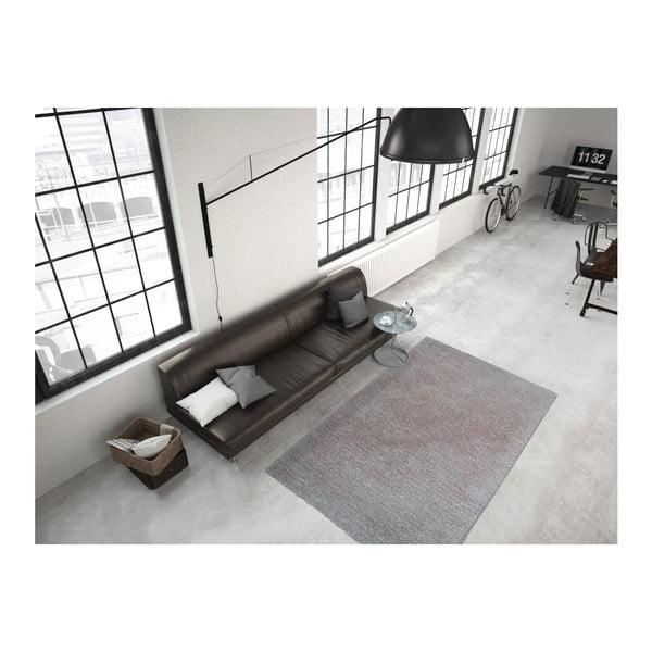 Szary dywan Smoothy, 120x170cm