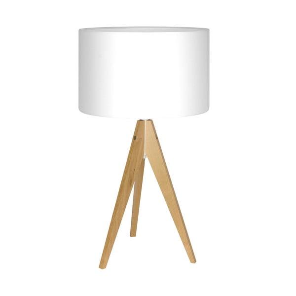 Lampa stołowa Artist White/Birch, 40x33 cm