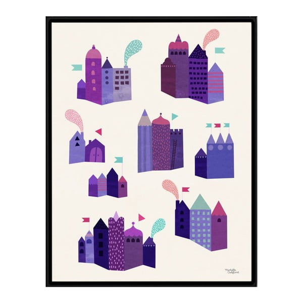 Plakat Houses, 30x40 cm