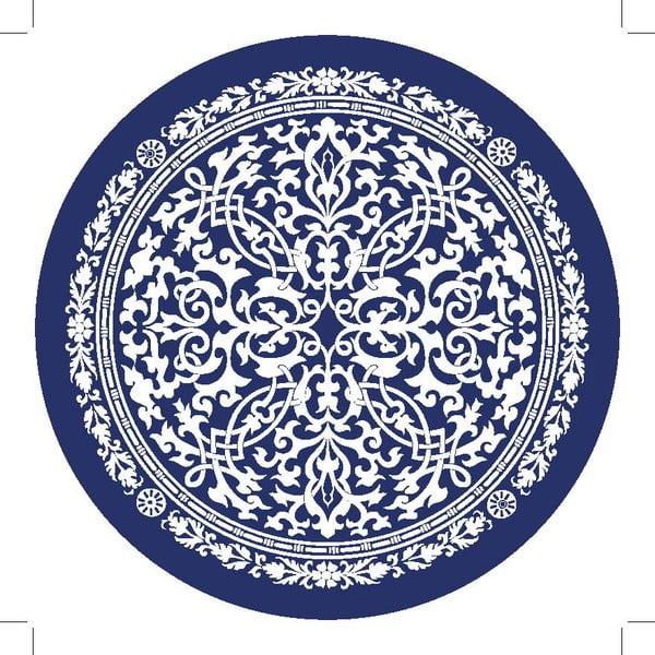 Zestaw 2 mat stołowych Dark Blue Decor