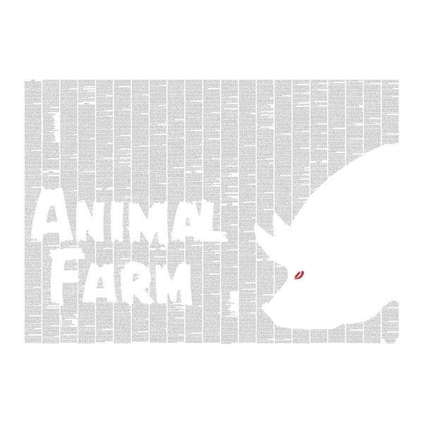 """Plakat """"Folwark zwierzęcy"""", 70x50 cm"""