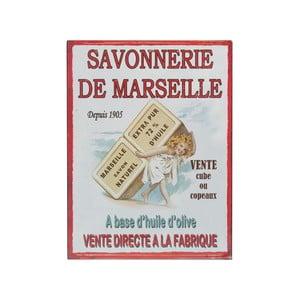 Tabliczka naścienna De Marseille, 25x33 cm