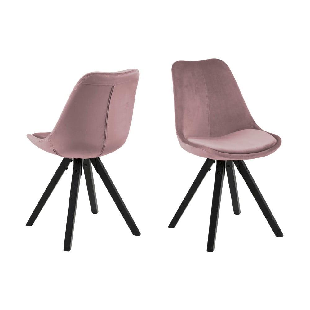 Różowe krzesło Actona Dima