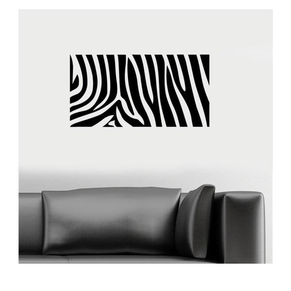 Naklejka winylowa naścienna Zebra
