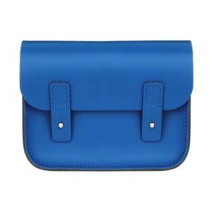 Niebieska skórzana torebka Brix + Bailey Mini