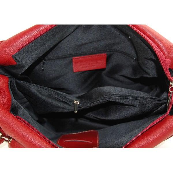 Skórzana torebka Diona Rosso/Nero