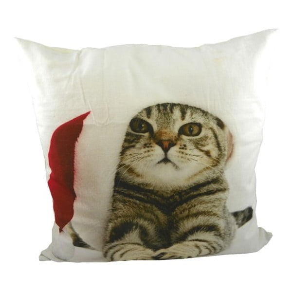 Poduszka Christmas Cat 50x50 cm